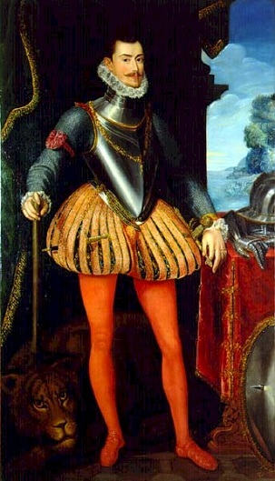 Don Juan of Austria, ca. 1576 (Alonzo Sanchez Coello) (1532-1588)   El Escorial, San Lorenzo