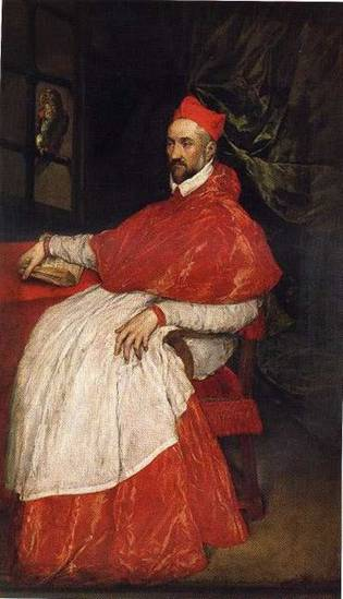 Charles de Guise, Cardinal of Lorraine, 1572  (El Greco) (1541-1614)    Location TBD