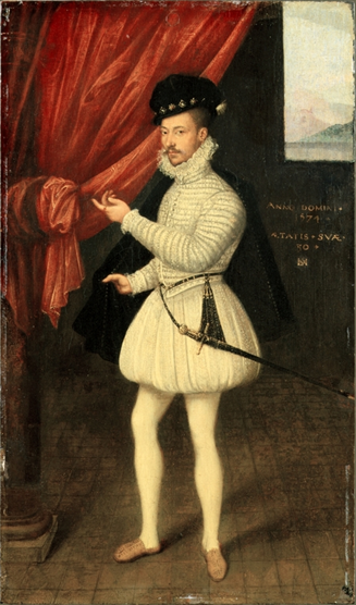 A Man,  1574  (Monogrammist LAM) (fl. 1568-1574) Metropolitan Museum of Art, New York, NY,   32.100.119