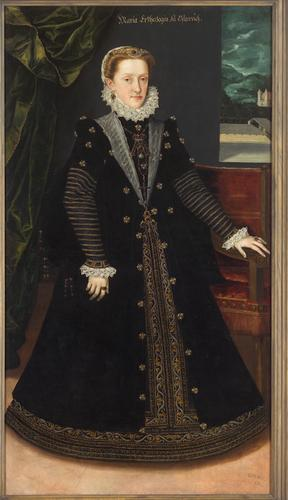 Maria Anna, Duchess of Bavaria, 1577 (Unknown Artist)  Kunsthistorisches Museum, Wien,  GG 3272