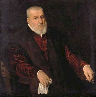 A Venetian Gentleman , ca. 1570 (Jacopo Tintoretto) (1518-1594) Private Collection