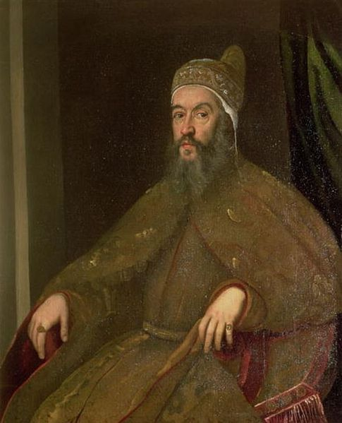 Alvise Mocenigo, Doge of Venice, ca. 1575 (Jacopo Tintoretto) (1518-1594) Location TBD