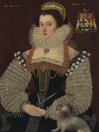 Dorothy Bray, Baroness Chandos, 1579 (John Bettes the Younger) (??-1616) Yale Center for British Art, New Haven, CT, B1973.1.3