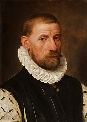 A Gentleman, 1579 (Frans Pourbus the Elder) (1545-1581) Raphael Valls, Ltd., London