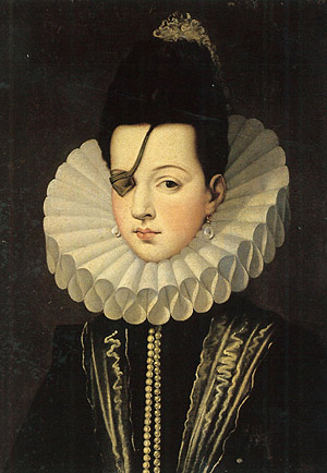 Doña Ana de Mendoza y la Cerda, Princess of Eboli, ca. 1575 (Unknown Artist) Location TBD