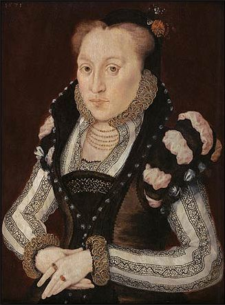 Lady Mary Grey, 1571 (attributed to Hans Eworth) (ca. 1520-1574) Chequers Estate, Buckinghamshire