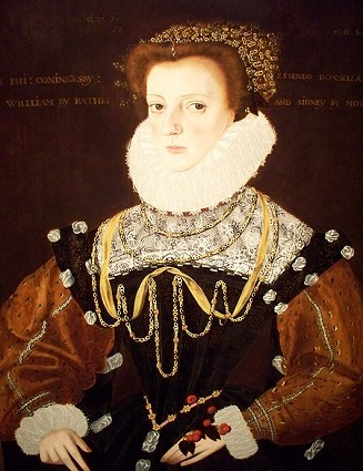 Lady Philippa Coningsby, 1578 (George Gower) (1540-1596) Indianapolis Museum of Art, IN, 56.107