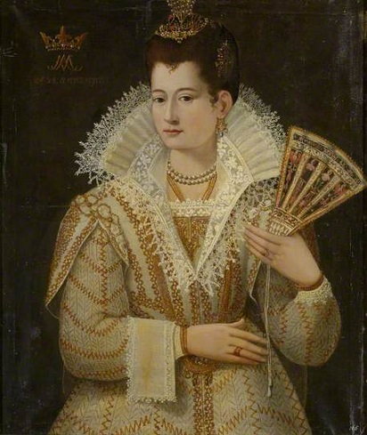 "A Lady at 23 years of age, ""Countess Miranda"", 1571 (circle of Santi di Tito) (1536-1603) Oxburgh Hall, Norfolk, UK, National Trust, 1210350"
