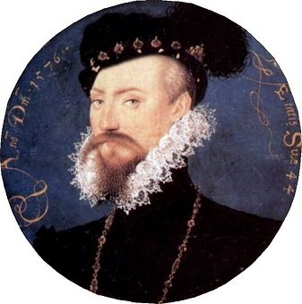 Robert Dudley, 1st Earl of Leicester, 1576 (Nicolas Hilliard) (1547-1619) National Portrait Gallery, London , NPG 4197
