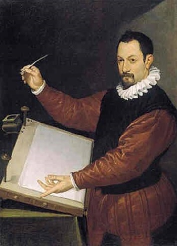 A Scribe, ca. 1575 (Bartolomeo Passarotti) (1529-1592) Robilant and Voena Gallery, London
