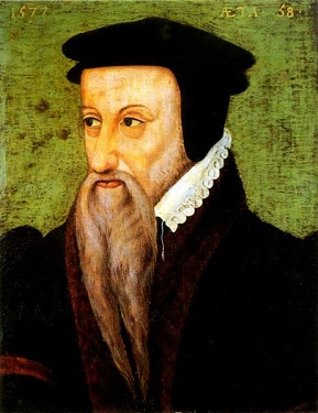 Theodore de Beze at 58 years old, 1577 (Unknown Artist) Location TBD
