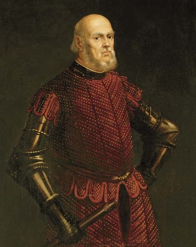 A Venetian Commander, ca. 1575 (attributed to Jacopo Tintoretto) (1519-1594) Private Collection