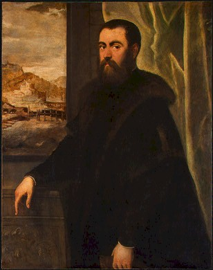 A Venetian Man, ca. 1570 (Jacopo Tintoretto) (1518-1594) The National Gallery Gallery of Art, Washington D.C.