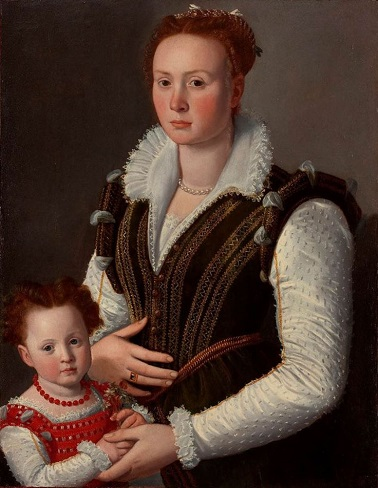 A Mother and Child, ca. 1570 (attributed to Santi di Tito) (1536-1603) Location TBD