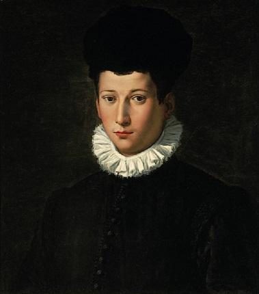 A Young Man, ca. 1570 (attributed to Alessandro Allori) (1535-1607) Columbia Museum of Art, SC, Kress Collection, K-1204