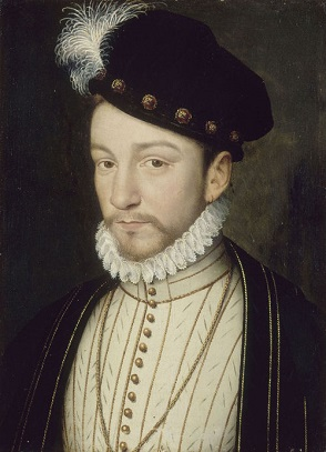 Charles IX of France, 1571 (François Clouet) (1510-1572) Location TBD