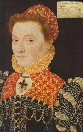 Elizabeth Fitzgerald, Countess of Lincoln, ca. 1571 (cropped) (Unknown Artist) Location TBD