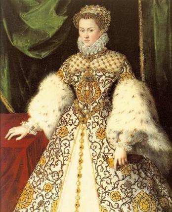 Elizabeth of Austria, ca. 1571 (Unknown Artist) Location TBD