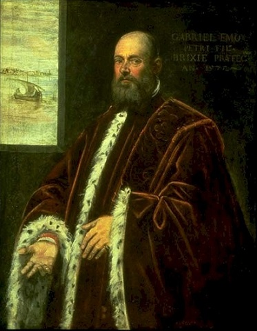 Gabriele di Pietro, Procurator of San Marco, 1572 by Jacopo Tintoretto, 1518-1594 Seattle Art Museum, 1961.171