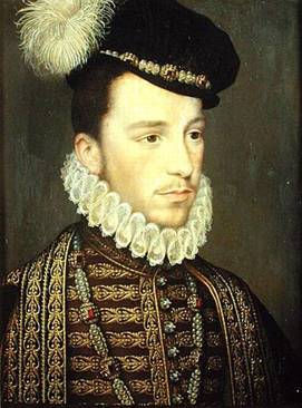 Henry III at 19 years old, ca. 1570 (Francois Clouet) (1510-1572) Location TBD