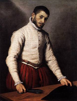 The Tailor, ca. 1570 (Giovanni Battista Moroni) (1522-1579) The National Gallery, London