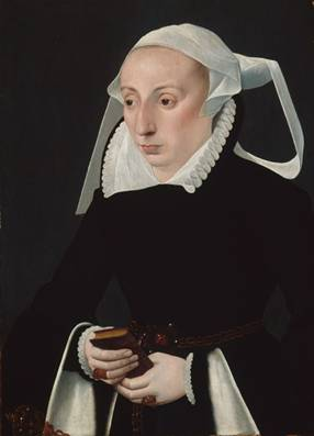 A Woman, ca. 1560-1570 (Bartholomäus Bruyn the Younger) (1524-1610) The Art Institute of Chicago, IL 1940.934