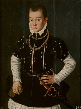 A Young Noble, ca. 1570 (Unknown Flemish Artist) Museo Nacional del Prado, Madrid P00056