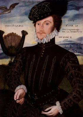 Sir Thomas Coningsby (Attrib. George Gower) (1540-1596) National Portrait Gallery, London 4348