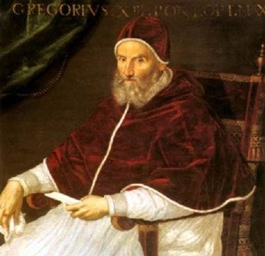 Pope Gregory XIII (Lavinia Fontana) (1552-1614) Location TBD