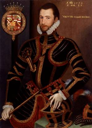 Walter Devereux, 1st Earl Essex, 1572 (Unknown Artist) National Portrait Gallery, London 4984
