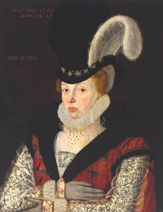Lady Kytson, 1573 (George Gower) (1540-1596) Location TBD