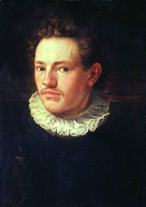 Self-Portrait at 22 years old, 1574 (Hans von Aachen) (1552-1615) Location TBD
