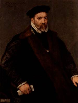 Thomas Wilson, 1575 (Unknown Artist ) National Portrait Gallery, London 3799
