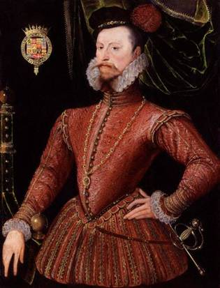 Robert Dudley, 1st Earl of Leicester, ca. 1575 (Unknown Artist) National Portrait Gallery, London 447