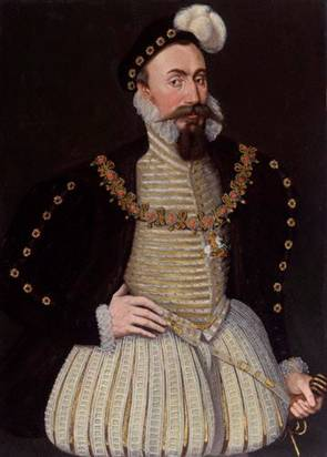 Robert Dudley, 1st Earl of Leicester, ca. 1575 (Unknown Artist) National Portrait Gallery, London 247
