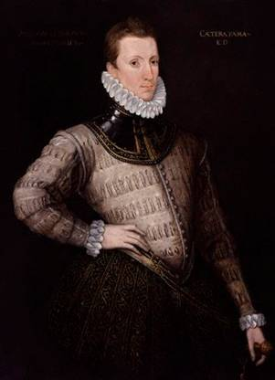Sir Philip Sidney, ca. 1576 (Unknown Artist) National Portrait Gallery, London 5732