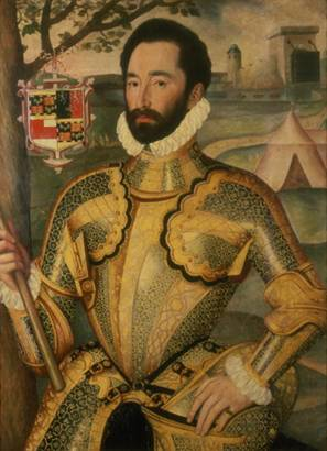 Sir Charles Somerset, ca. 1577 (George Gower) (1540-1596) Location TBD