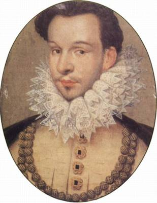 François , Duke of Anjou, ca. 1577 (Nicolas Hilliard) (1547-1619) Location TBD Victoria and Albert Museum, London?