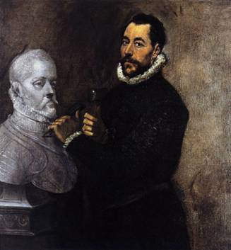 A Sculptor, ca. 1576-1578 (El Greco) (1541-1618) Private Collection