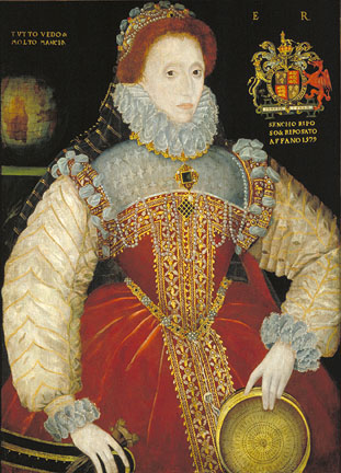 Elizabeth I, 1579 (Plimpton Sieve Portrait) (attributed to George Gower) (1540-1597) Location TBD