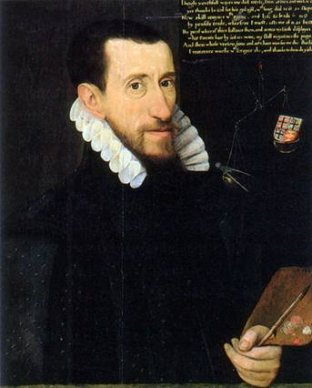 Self-Portrait, 1579 (George Gower) (1540-1597) Private Collection