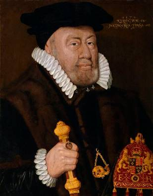 Sir Nicholas Bacon, 1579 (Unknown Artist) National Portrait Gallery, London 164