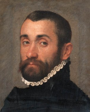 A Nobleman, ca. 1570 by Giovanni Battista Moroni, 1522-1579 Christie's Sale 6323, Lot 85