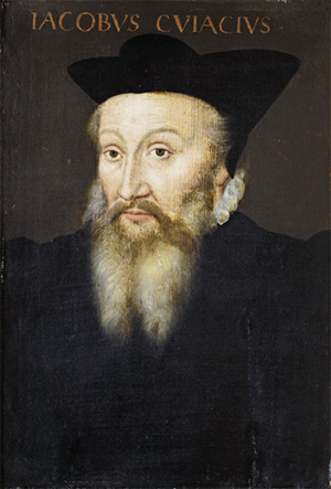 Jacques de Cujas, ca. 1580 (Unknown Artist) Location TBD,Court of Appeal, Toulouse?