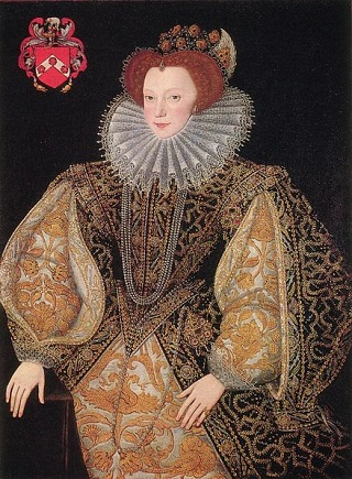 Lettice Knollys, ca. 1585 (attributed to George Gower)   Longleat House, Somerset