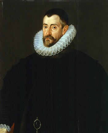 Sir Francis Walsingham, ca. 1585 (attributed to John de Critz the Elder) (ca. 1551-1642)   National Portrait Gallery London NPG 1807