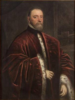 A Procurator (Jacopo Tintoretto) (1518-1594)   Kunsthistorisches Museum, Wien   GG_1541