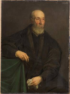 A Man,  ca. 1580  (attributed to a follower of Jacopo or Domenico Tintoretto) (1518-1594)   Kunsthistorisches Museum, Wien   GG_3568