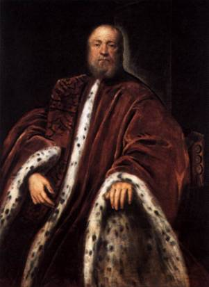 A Procurator of St Mark's, ca. 1580-1583 (Tintoretto) (1518-1594) National Gallery of Art, Washington D.C.