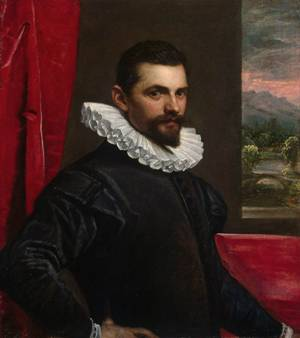A Man, ca. 1586-1589 (Domenico Robusti Tintoretto) (1560-1635)   State Hermitage Museum, St. Petersburg, Russia